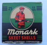 1948 Federal Monark Skeet Load 12 ga. Full & Correct