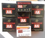 7 Boxes of WInchester AA Target Load 20 gauge #8 Shot