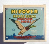 "Federal Hi-Power ""Master Pack"" 25 12 gauge slugs, 5 inside boxes, Not Common"