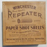 winchester repeater best quality 100 count paper shot shell box two piece