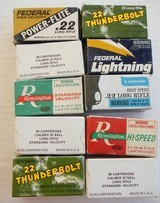 10 Full Boxes of 22 Long Rifle Ammo - 1 of 2