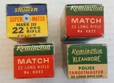 Rem Police Targetmaster, Rem Match & Western Super Match Mark III Total of 4 boxes - 2 of 2