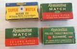 Rem Police Targetmaster, Rem Match & Western Super Match Mark III Total of 4 boxes - 1 of 2