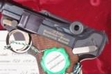 Mauser, Russian, Luger Commemorative, Near New! 9mmP