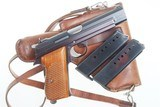 SIG P49 P210, Swiss Military, Early High Polish Rig. 9mmP - 2 of 15