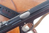 SIG P49 P210, Swiss Military, Early High Polish Rig. 9mmP - 4 of 15