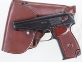 Makarov, Russian, 1962 Date, Rig, Two Matching Magazines.