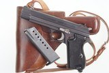 sig p210 6, cal 7.65p, black checkered grips