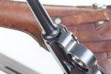 DWM Swiss 1900 Luger, 921, Military, Holster - 6 of 14