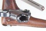 DWM Swiss 1900 Luger, 921, Military, Holster - 10 of 14