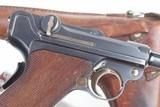 DWM Swiss 1900 Luger, 921, Military, Holster - 2 of 14