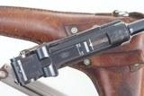 DWM Swiss 1900 Luger, 921, Military, Holster - 5 of 14