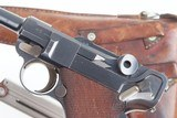 DWM Swiss 1900 Luger, 921, Military, Holster - 3 of 14