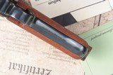 Mauser 1902 Cartridge Counter Luger, As NEW in Case - 9 of 15