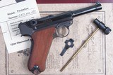 Mauser 1902 Cartridge Counter Luger, As NEW in Case - 2 of 15