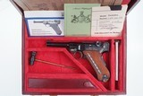 Mauser 1902 Cartridge Counter Luger, As NEW in Case - 13 of 15