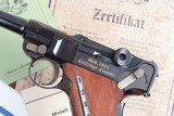 Mauser 1902 Cartridge Counter Luger, As NEW in Case - 4 of 15