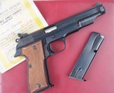 French MAB PA-15 M1, Target, Cased, Near New! - 1 of 15