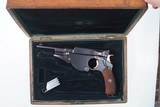 Bergmann M1896 No. 3, Early Production, Cased, Antique. - 1 of 12