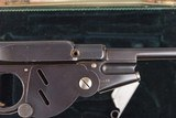Bergmann M1896 No. 3, Early Production, Cased, Antique. - 8 of 12