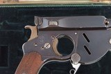 Bergmann M1896 No. 3, Early Production, Cased, Antique. - 3 of 12