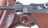 Luger, 1900 Swiss, Military, Wide Trigger, Holster - 4 of 15