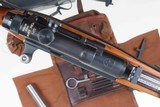Swiss Bern ZFK 31/55 Sniper Rifle, matching Scope and Can - 4 of 15