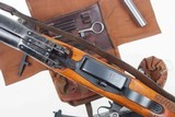 Swiss Bern ZFK 31/55 Sniper Rifle, matching Scope and Can - 7 of 15