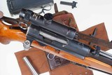 Swiss Bern ZFK 31/55 Sniper Rifle, matching Scope and Can - 1 of 15