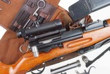 Swiss Bern ZFK 31/55 Sniper Rifle, matching Scope and Can - 12 of 15