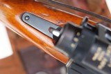 Swiss Bern ZFK 31/55 Sniper Rifle, matching Scope and Can - 10 of 15
