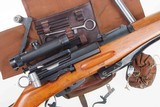 Swiss Bern ZFK 31/55 Sniper Rifle, matching Scope and Can - 2 of 15
