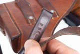 Gorgeous Swiss SIG, P49, Rig, High Polish, Military, holster and spare magazine, I-672 - 14 of 15