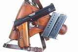 Gorgeous Swiss SIG, P49, Rig, High Polish, Military, holster and spare magazine, I-672 - 2 of 15