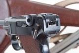 DWM 1900 Swiss Luger, Military, Cross in Sunburst, Holster, 936, I-593 - 6 of 15