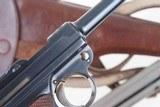 DWM 1900 Swiss Luger, Military, Cross in Sunburst, Holster, 936, I-593 - 13 of 15