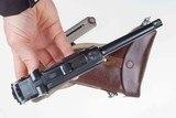DWM 1900 Swiss Luger, Military, Cross in Sunburst, Holster, 936, I-593 - 12 of 15