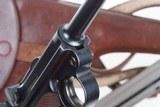 DWM 1900 Swiss Luger, Military, Cross in Sunburst, Holster, 936, I-593 - 5 of 15