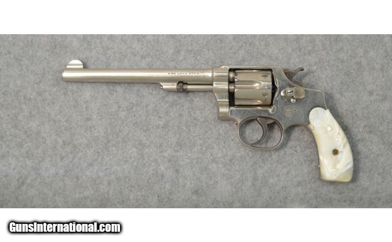 smith and wesson 32 long revolver serial number