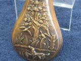 Mid-1800's Dog Scene Powder Flask - 6 of 6