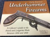 Early American Underhammer Firearms, 1826 to 1840