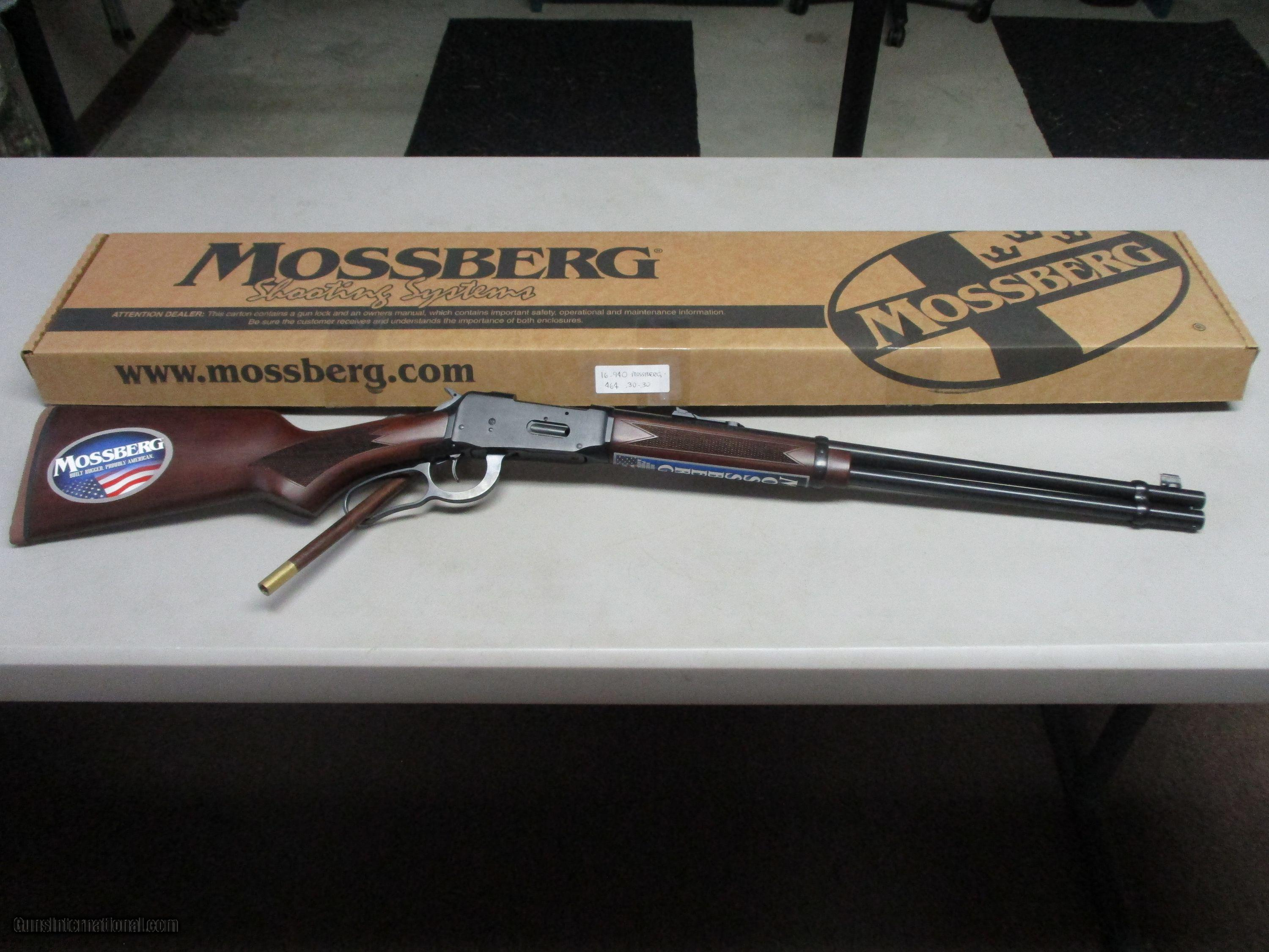 Mossberg Model 464 30 30 Lever Action 20 New In Box