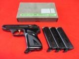 H&K Model 4 .380 ACP w/.22 Conversion Kit Excellent Condition