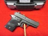 Sig Sauer P938 Nightmare 9mm Para Exc. Cond w/box, manual