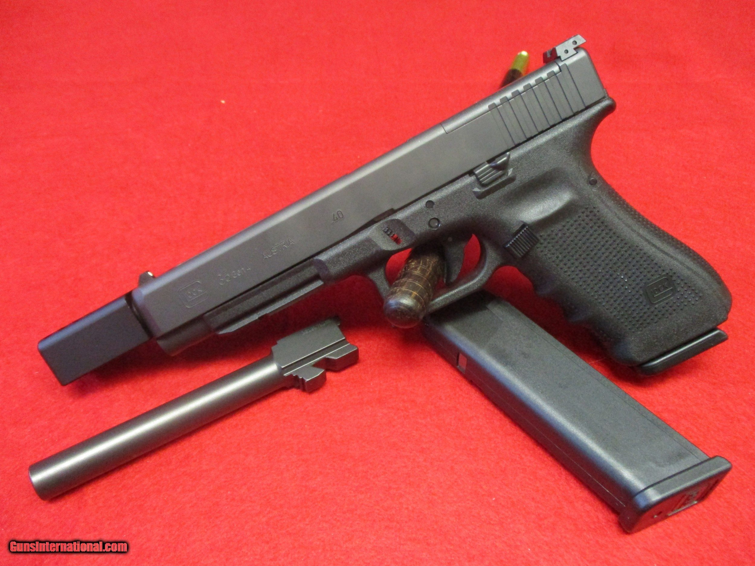 Glock Threaded Compensator: For Sale: Glock 27 With Lone