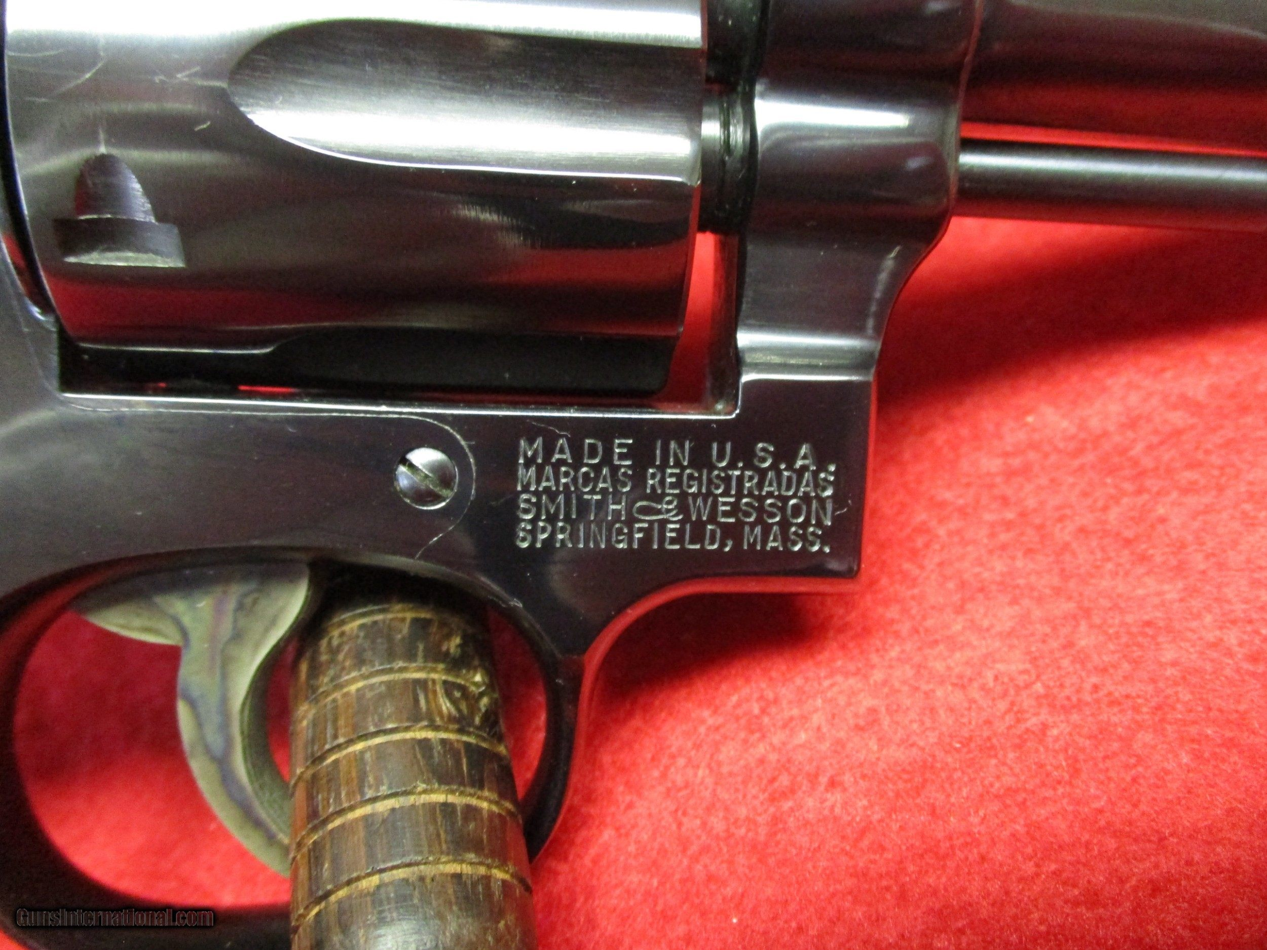Smith en Wesson Model 10 serienummer dating
