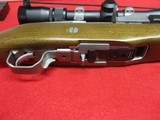 Ruger Mini-14 Stainless Ranch Rifle .223 w/Nikon ProStaff, box, 3 mags - 14 of 14
