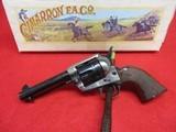 Cimarron Frontier Old Silver Frame .45 Colt Engraved