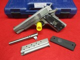 Colt 1911A1 Series 80 .38 Super w/Orig. Box, spare Jarvis 9x23mm Win Barrel