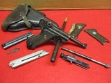 Mauser P.08 Luger S/42 9mm pistol Made 1938 w/22 Conversion Kit, Holster